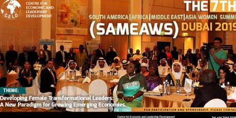 South America - Africa - Middle East - Asia Women Summit (SAMEAWS) 2019 tickets
