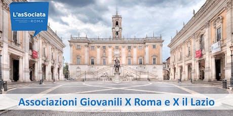 Associazioni Giovanili X Roma e X il Lazio biglietti