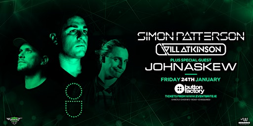 Open Up Dublin | Simon Patterson, Will Atkinson + John Askew (special guest)
