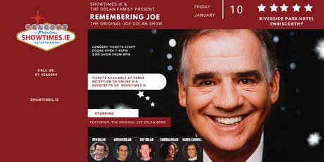 The Dolan Family Presents - Remembering Joe Dolan - Riverside Hotel tickets