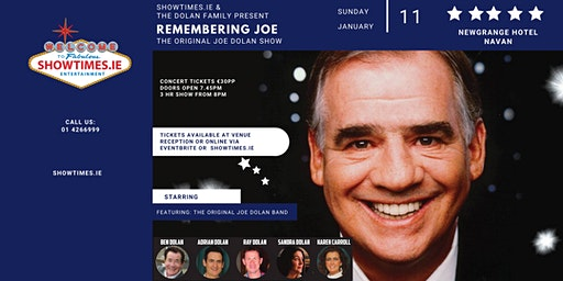 The Dolan Family Presents - Remembering Joe Dolan - Newgrange Hotel