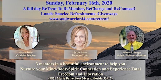 """""""FYF"""" Full Day ReTreat; To ReCharge and ReConnect!"""