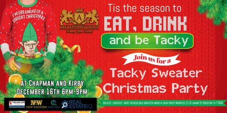 Tacky Sweater Networking Event tickets