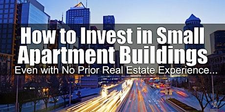 Investing on Small Apartment Buildings - Atlanta GA tickets
