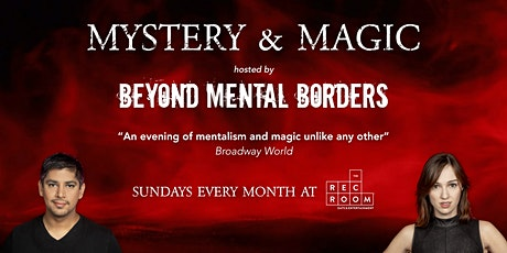 Mystery & Magic at The Rec Room tickets