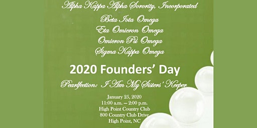 2020 FOUNDERS' DAY