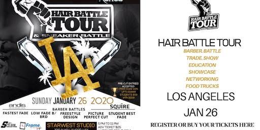 XOTICS HAIR BATTLE TOUR LOS ANGELES 2020