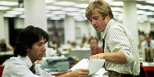 "FREE FILM SCREENING: ""All The President's Men"" Starring Robert Redford"