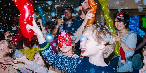 Tiny Groovers: A day- time party for Under 5s and their adults