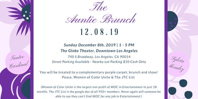 The Auntie Brunch
