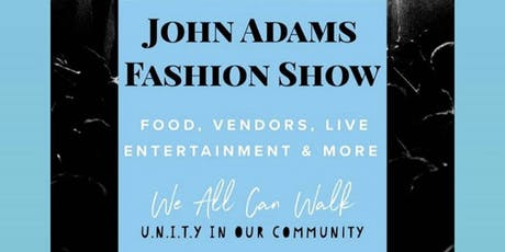 John Adams High School Fashion Show tickets