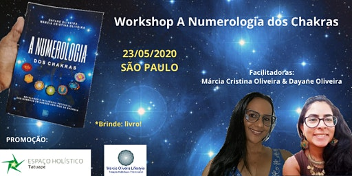 WORKSHOP A NUMEROLOGIA DOS CHAKRAS