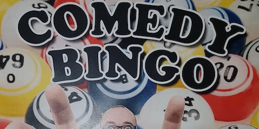 COMEDY BINGO hosted by Brendan Riley with prizes to win for all the family