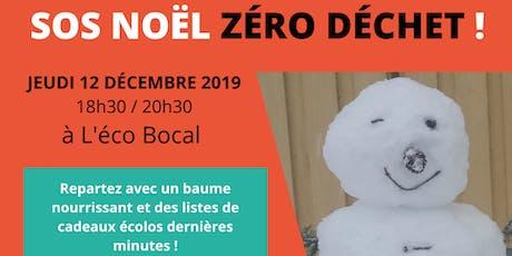 SOS Noël zéro déchet ! billets