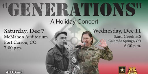 GENERATIONS - A Holiday Concert