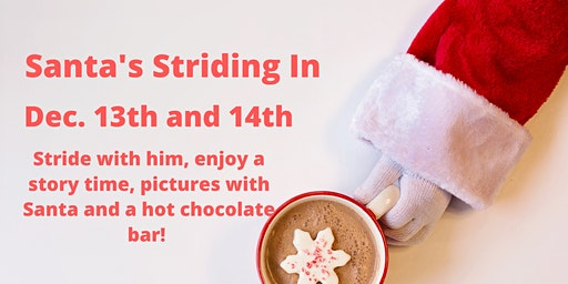 Santa's Striding