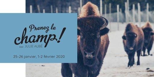 Prenez le champ en raquette et visitez des bisons et wapitis