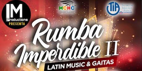 Rumba Imperdible II  Latin Music & Gaitas tickets