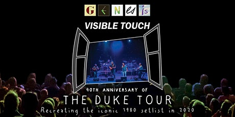 Music - Genesis Visible Touch tickets