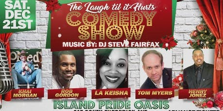 (BWMEG) presents Laugh Til It Hurts Holiday Comedy Show and Guest DJ! tickets