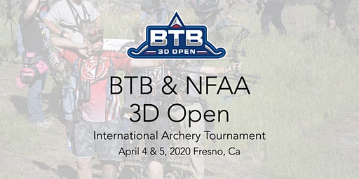 BTB & NFAA 3D Open International Archery Tournament