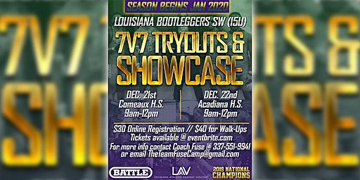 Louisiana Bootleggers (SW) 7v7 Tryouts & Showcase (15U)