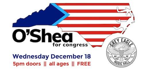 O'Shea for Congress Campaign Kickoff Party