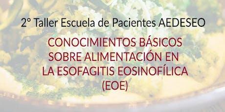 Conocimientos básicos sobre alimentación en la Esofagitis Eosinofílica entradas