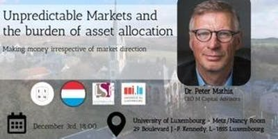 """Unpredictable Markets and the burden of asset allocation"""""""