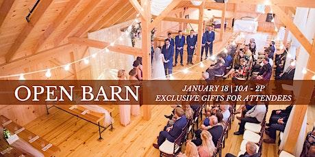 Open Barn tickets