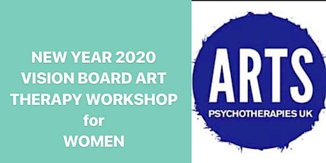 NEW  YEAR 2020 Vision Board Art Therapy Workshop for  WOMEN tickets
