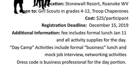 Girl Scout Business Etiquette 101 tickets