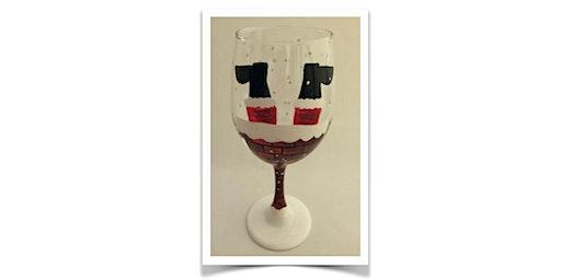 Thursday Night Santa Wine Glass Paint Night!