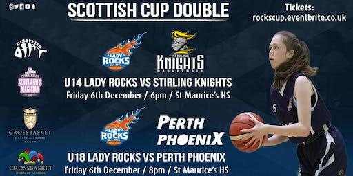 Scottish Cup Double | U14 and U18 Lady Rocks