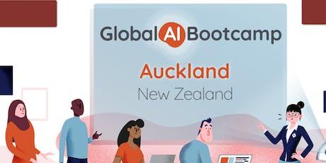 Global AI  BootCamp Auckland 2019 tickets