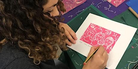 Draw, carve, print: Linocut Workshop tickets