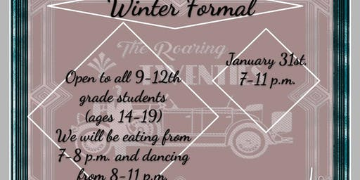 Teen Council Winter Formal