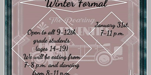 Teen Council Winter Formal