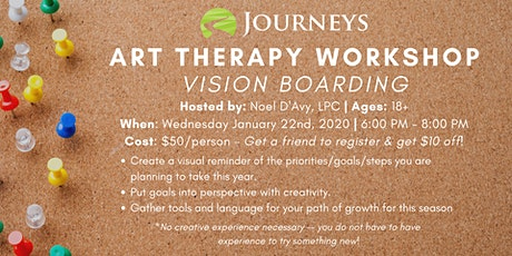 Art Therapy Workshop - Vision Boarding tickets