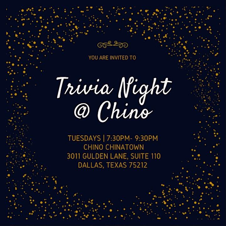 Trivia Night @ Chino image