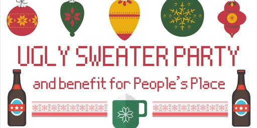 Ugly Sweater Party to Benefit People's Place