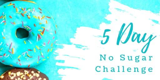 5 - Day No Sugar Challenge