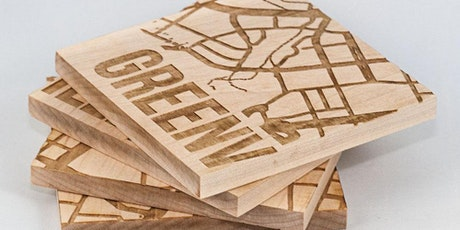 Laser Cutter Intro: Wood Coasters Workshop tickets
