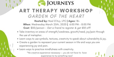 Art Therapy Workshop - Garden of the Heart