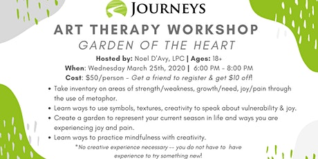 Art Therapy Workshop - Garden of the Heart tickets