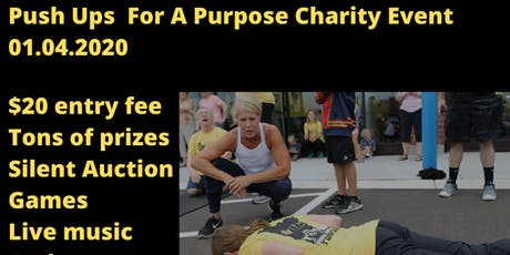 Push ups For A Purpose Charity Event - Raising Money For CEC tickets
