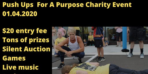 Push ups For A Purpose Charity Event - Raising Money For CEC