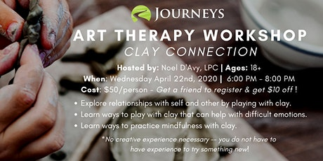 Art Therapy Workshop - Clay Connection tickets