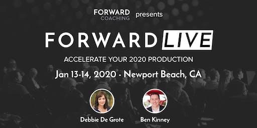 Forward LIVE with Debbie De Grote & Ben Kinney