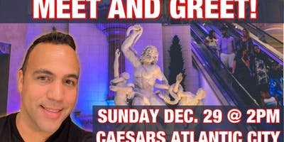 King Jason Mini Meet & Greet in Atlantic City!!!  Sunday 12/29 @ 2pm EST!